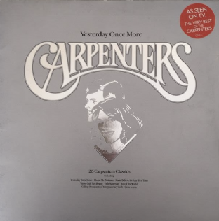 Carpenters ‎- Yesterday Once More (LP) (VG/VG)